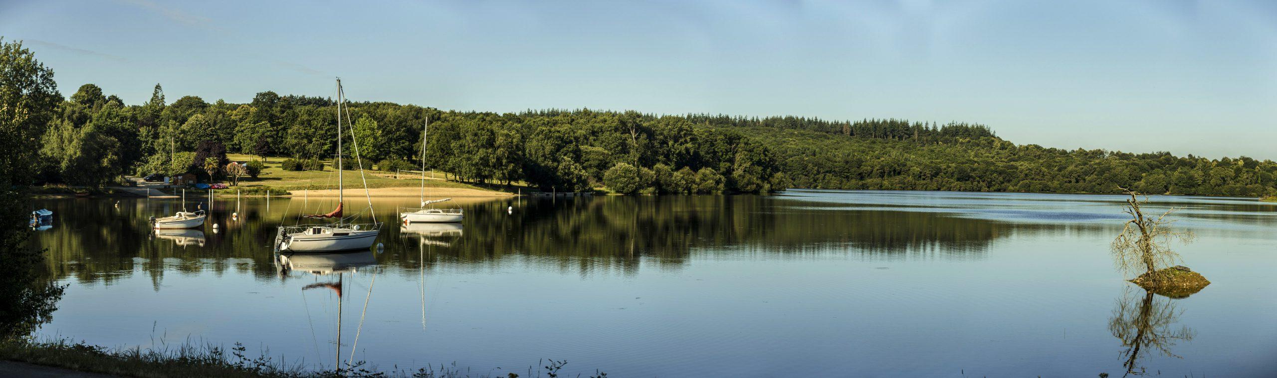 camping lac Guerlédan